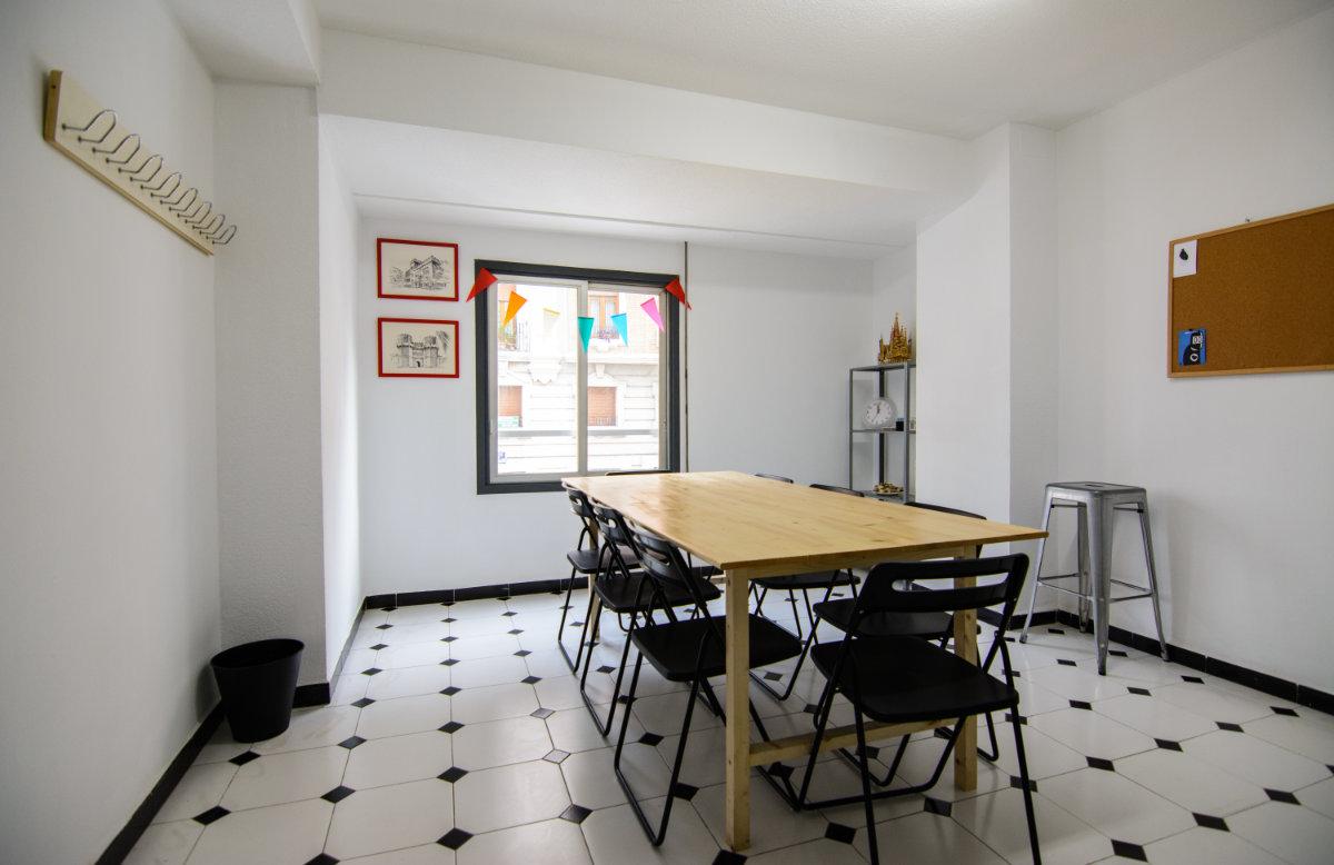 table spanish school valencia
